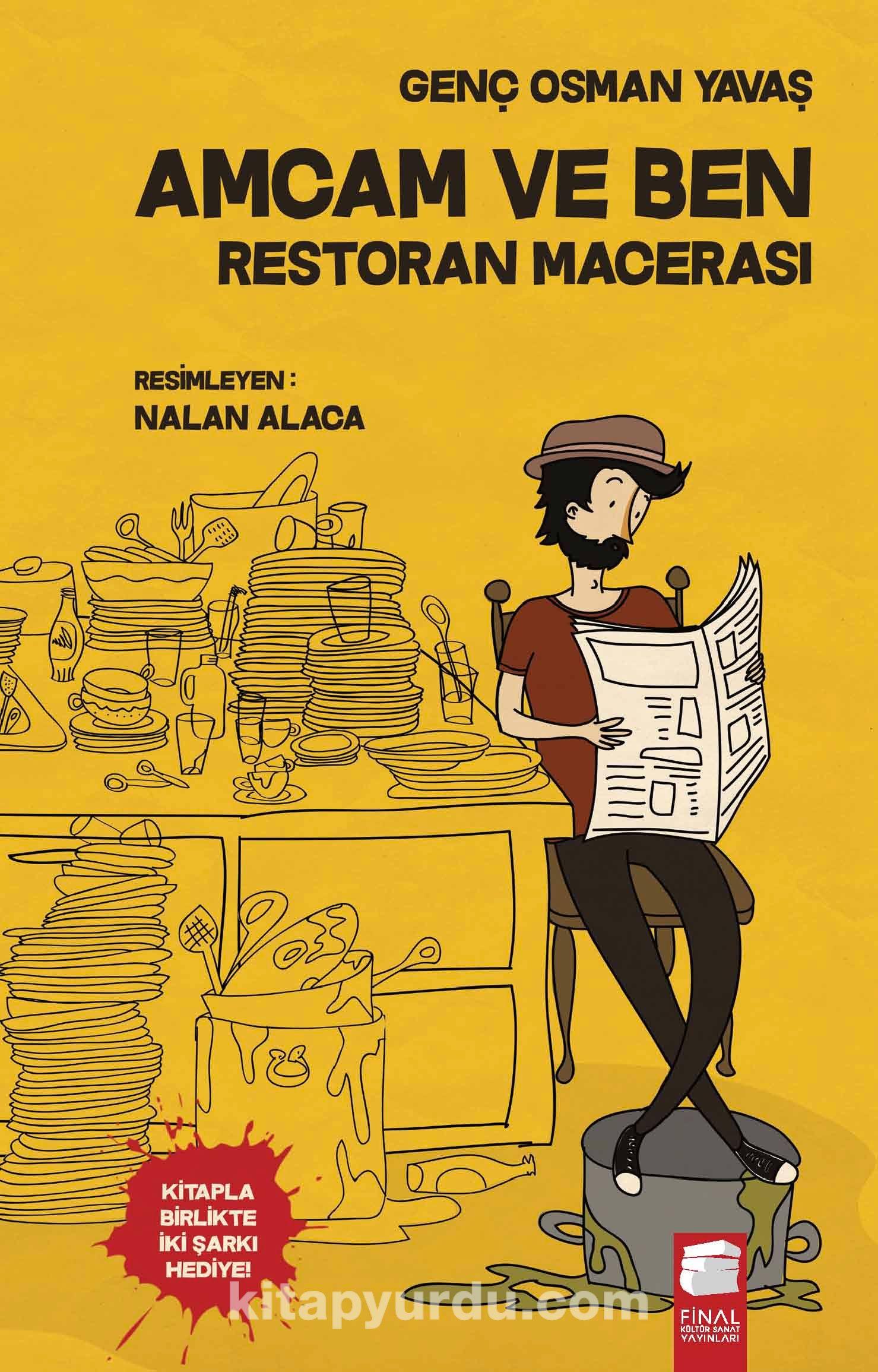 Amcam ve Ben / Restoran Macerası - Genç Osman Yavaş pdf epub
