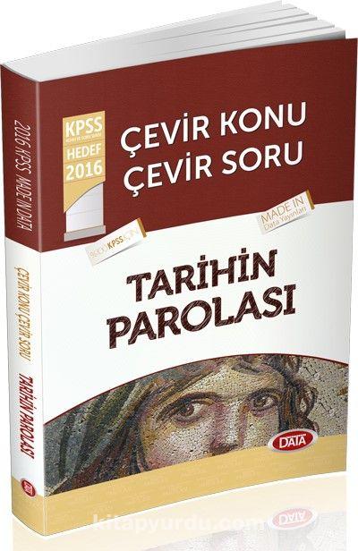 2016 KPSS Çevir Konu Çevir Soru Tarihin Parolası - Kollektif pdf epub