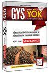2016 GYS YÖK Açıklamalı Soru Bankası