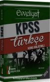 2016 KPSS Evveliyat Türkçe Konu Anlatımlı