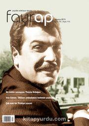 Fayrap Edebiyat Dergisi Ağustos 2015 Sayı:75