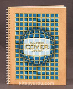 Bookinzi Okul Defteri (Taslamalı) 80gr. 70 yaprak A4 Çizgili - Optik İllüzyon Serisi - 10