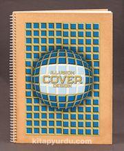 Bookinzi Okul Defteri (Taslamalı) 80gr. 70 yaprak A4 Çizgili - İllüzyon Serisi - 10