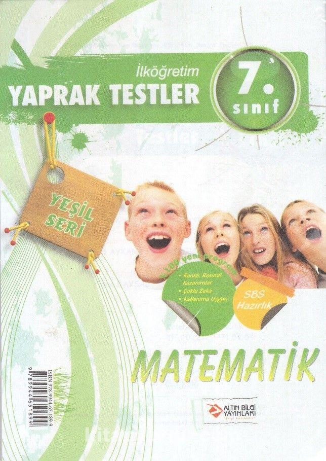 İlköğretim 7. Sınıf Matematik Yaprak Test - Kollektif pdf epub