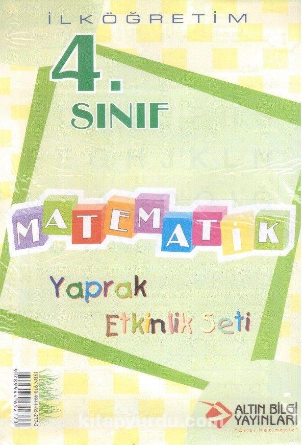 4. Sınıf Matematik Yaprak Etkinlik Seti - Kollektif pdf epub