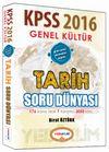 2016 KPSS Genel Kültür Tarih Soru Dünyası