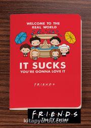 Friends - It Sucks - Dokun Hisset Serisi (AD-FR003) (Cep Boy)