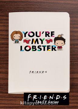 Friends - You're My Lobster - Dokun Hisset Serisi (AD-FR002) Lisanslı Ürün (Cep Boy) Lisanslı Ürün