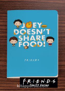 Friends - Joey Doesn't Share Food -  Dokun Hisset Serisi (AD-FR001) Lisanslı Ürün (Cep Boy) Lisanslı Ürün