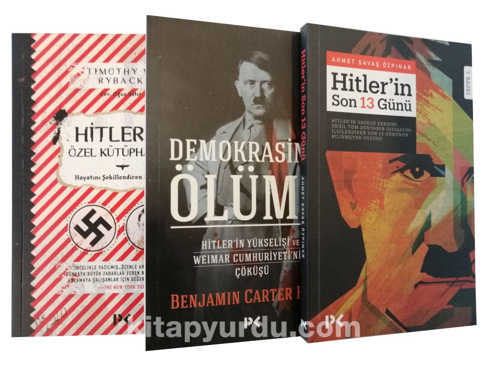 Adolf Hitler Seti (3 Kitap) - Savaş Özpınar pdf epub