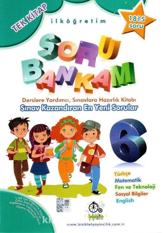 6. Sınıf Soru Bankam Tek Kitap - Kollektif pdf epub