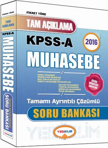 2016 KPSS A Muhasebe Tamamı Ayrıntılı Çözümlü Soru Bankası - Fikret Töre pdf epub