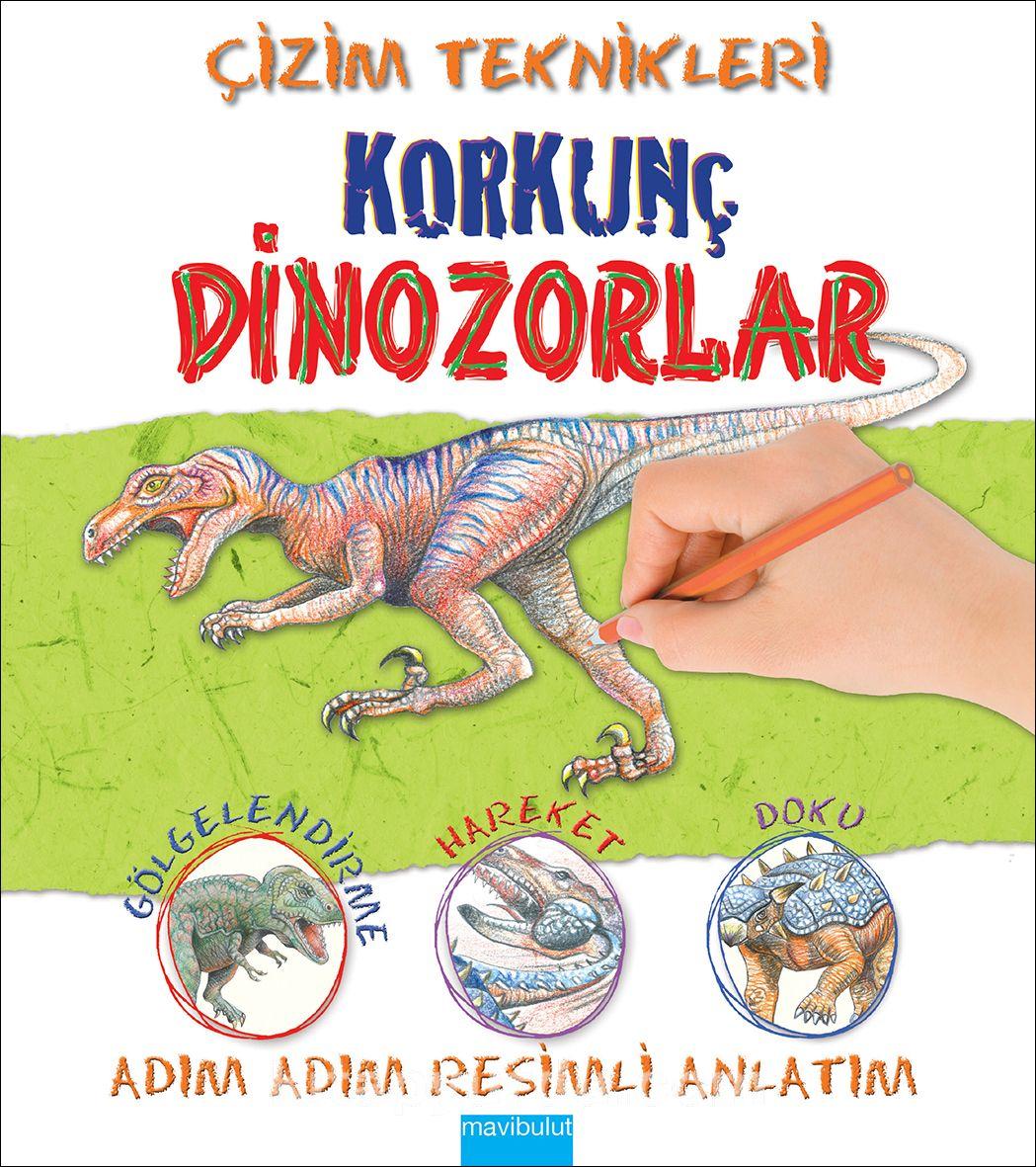 Çizim Teknikleri - Korkunç Dinozorlar - Susie Hodge pdf epub