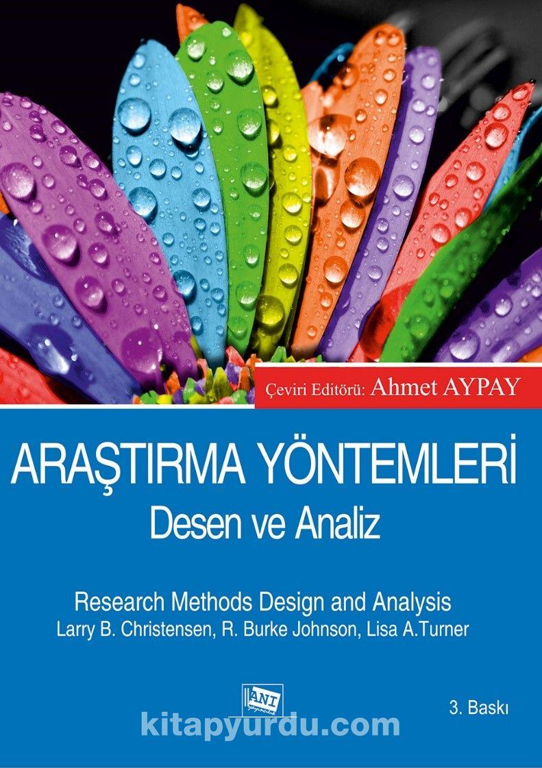 Araştırma Yöntemleri Desen ve Analiz - Kollektif pdf epub