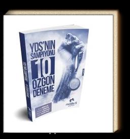 YDS'nin Şampiyonu 10 Özgün Deneme