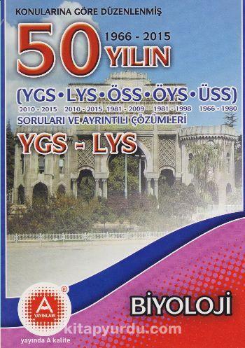 YGS-LYS Biyoloji 50 Yılın Soruları ve Ayrıntılı Çözümleri - Zafer Gülsar pdf epub