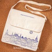 Kitapyurdu Postacı Bez Çanta (İstanbul Desenli)