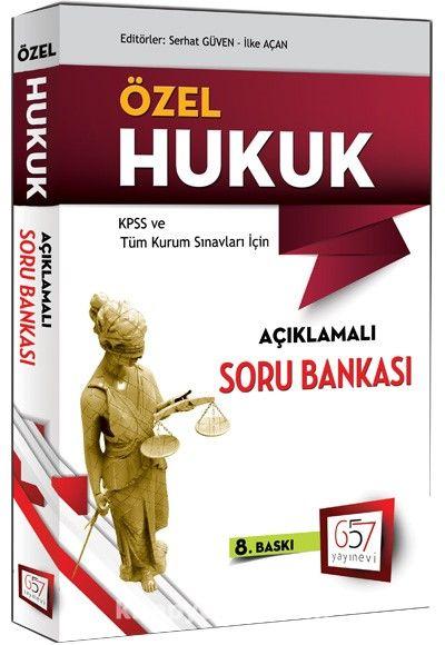 2016 KPSS A Grubu Özel Hukuk Açıklamalı Soru Bankası - Serhat Güven pdf epub