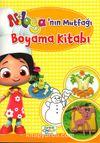 Niloya'nın Mutfağı Boyama Kitabı