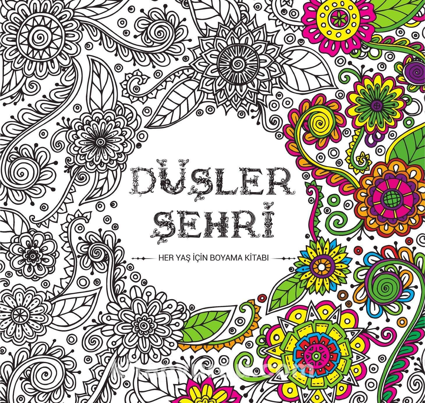 Dusler Sehri Her Yas Icin Boyama Kitabi Mehmet Bozkurt