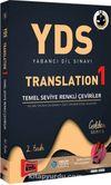 YDS Yabancı Dil Sınavı Translation 1 Temel Seviye Renkli Çeviriler
