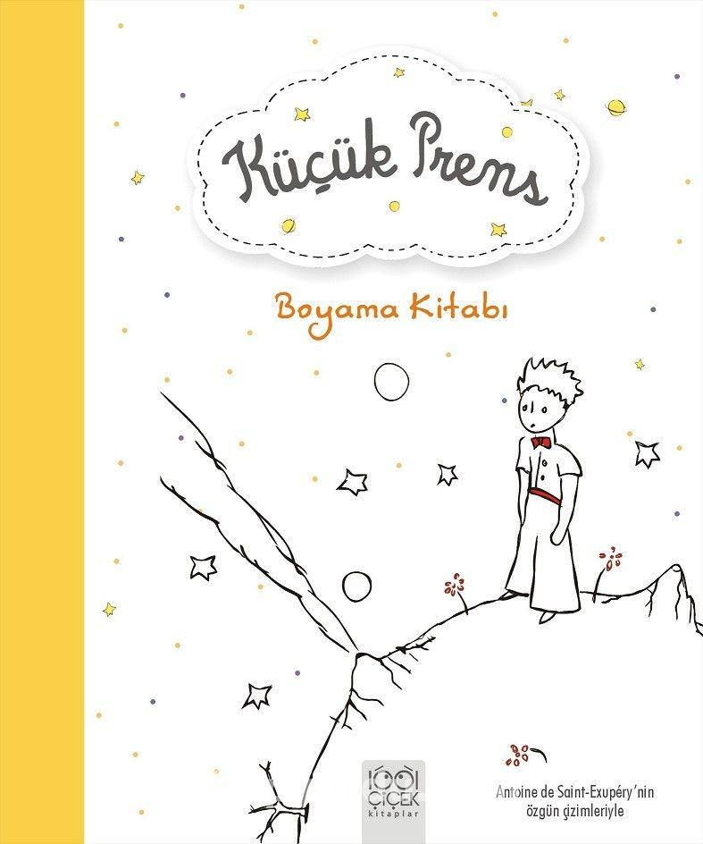 Küçük Prens Boyama Kitabı -  pdf epub