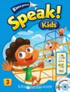Everyone Speak Kids 3 with Workbook +Hybrid CD