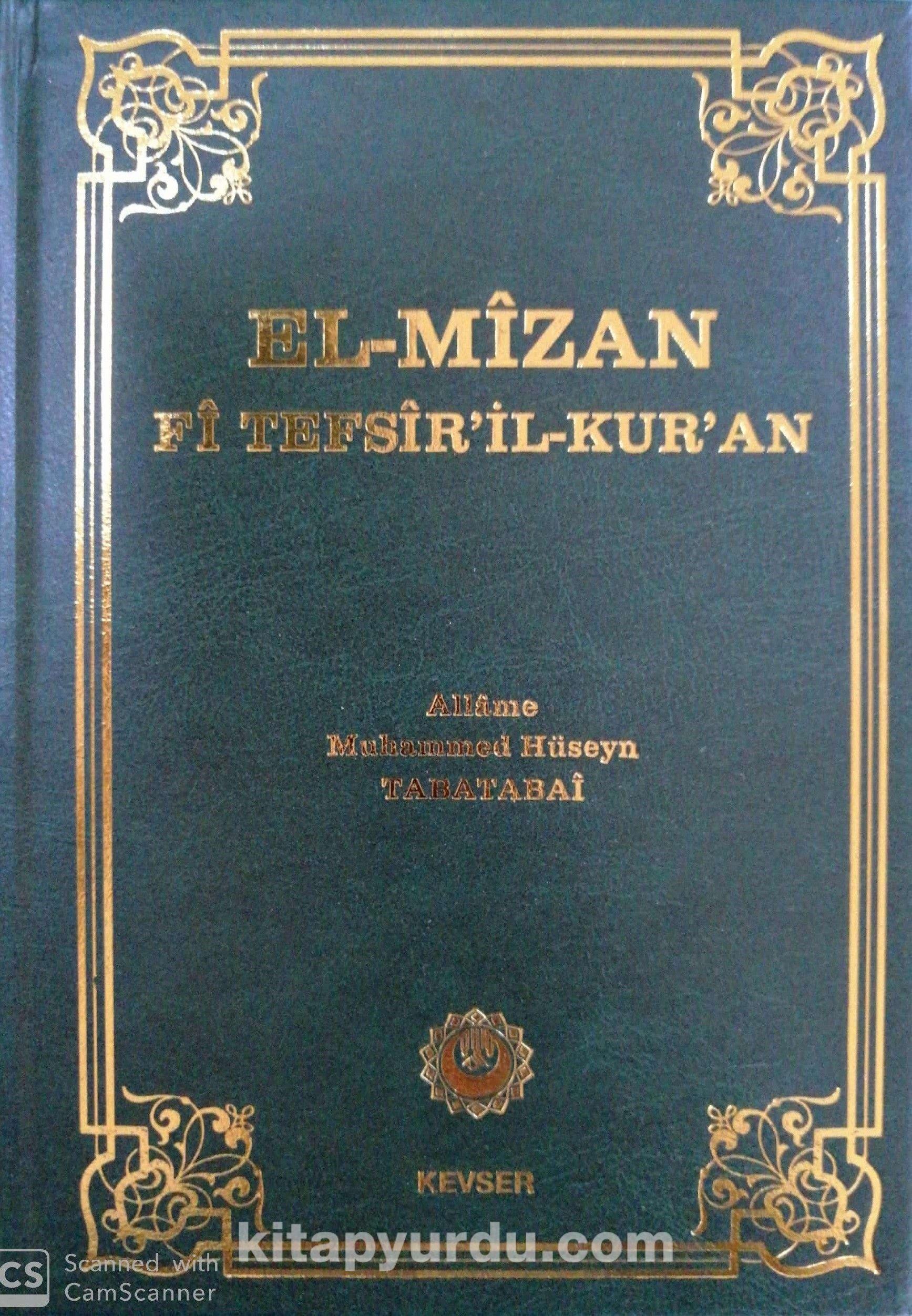 El Mizan Fi Tefsir-il Kur'an 5 - Allame Muhammed Hüseyin Tabatabai pdf epub