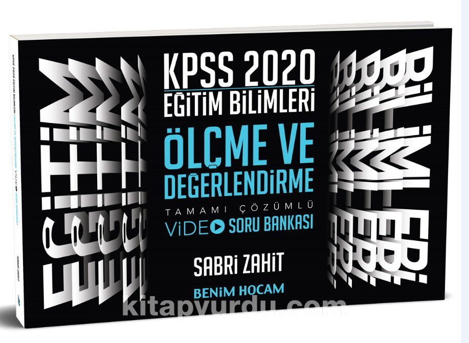 2020 Eğitim Bilimleri Ölçme ve Değerlendirme Video Soru Bankası - Sabri Zahit pdf epub