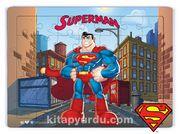 Superman - Superhero Ahşap Puzzle 35 Parça (KOP-SM131 - XXXV)