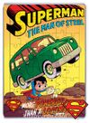 Superman - The Man of Steel Ahşap Puzzle 54 Parça (KOP-SM139 - LIV) Lisanslı Ürün