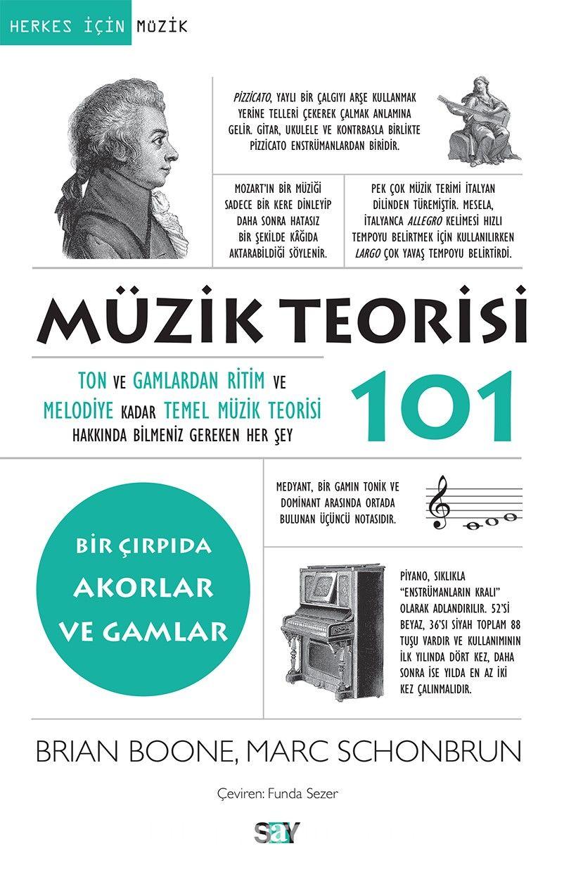 Müzik Teorisi 101 / Bir Çırpıda Akorlar ve Gamlar - Marc Schonbrun pdf epub