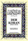 Der Koran (Büyük Boy Arapça-Almanca Ciltli)