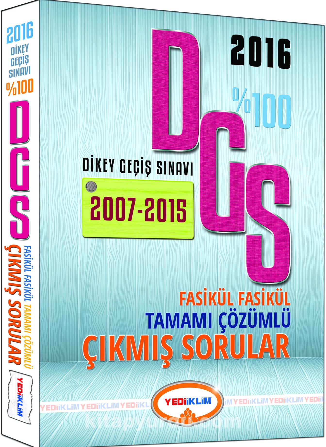 2016 DGS Tamamı Çözümlü Fasikül Fasikül - Kollektif pdf epub