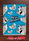 Tom and Jerry - Best Friends -  Dokun Hisset Serisi (AD-TJ010) Lisanslı Ürün (Cep Boy) Lisanslı Ürün
