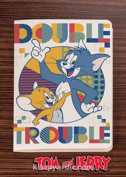 Tom and Jerry - Double Trouble -  Dokun Hisset Serisi (AD-TJ002) Lisanslı Ürün (Cep Boy) Lisanslı Ürün