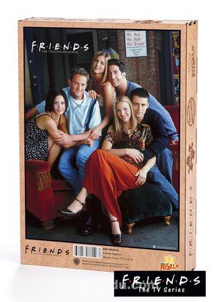 Friends - Friends Together Ahşap Puzzle 500 Parça (KOP-FR147 - D) Lisanslı Ürün