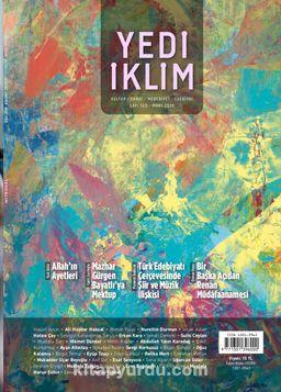 7edi İklim Sayı:360 Mart 2020 Kültür Sanat Medeniyet Edebiyat Dergisi