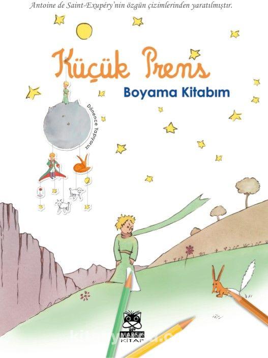 Küçük Prens Boyama Kitabım Antoine De Saint Exupery Kitapyurducom