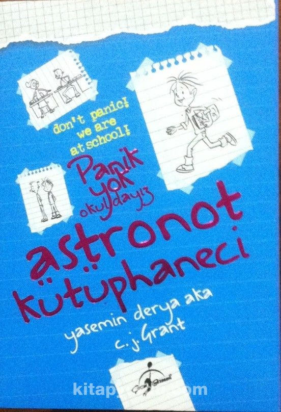 Astronot Kütüphaneci / Panik Yok Okuldayız