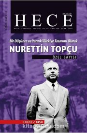 Sayı:109-Ocak 2006-Hece Aylık Edebiyat Dergisi (Özel sayı Nurettin Topçu)