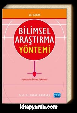 Bilimsel Araştırma Yöntemi / Prof. Dr. Niyazi Karasar