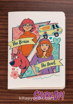 Scooby Doo - The Brain vs The Heart -  Dokun Hisset Serisi (AD-SD009) Lisanslı Ürün (Cep Boy) Lisanslı Ürün