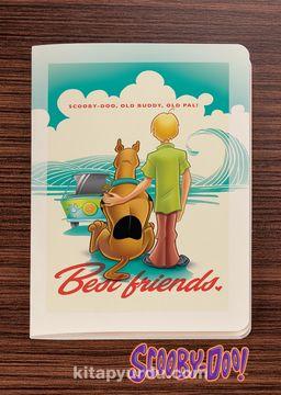 Scooby Doo - Best Friends -  Dokun Hisset Serisi (AD-SD002) Lisanslı Ürün (Cep Boy) Lisanslı Ürün