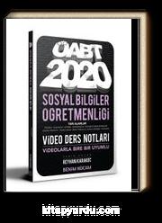 2020 ÖABT Sosyal Bilgiler Öğretmenliği Video Ders Notları