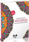 Mandala Renklerin Doğası Her Yaş İçin Boyama Kitabı