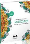 Mandala Renklerin Rüzgarı Her Yaş İçin Boyama Kitabı