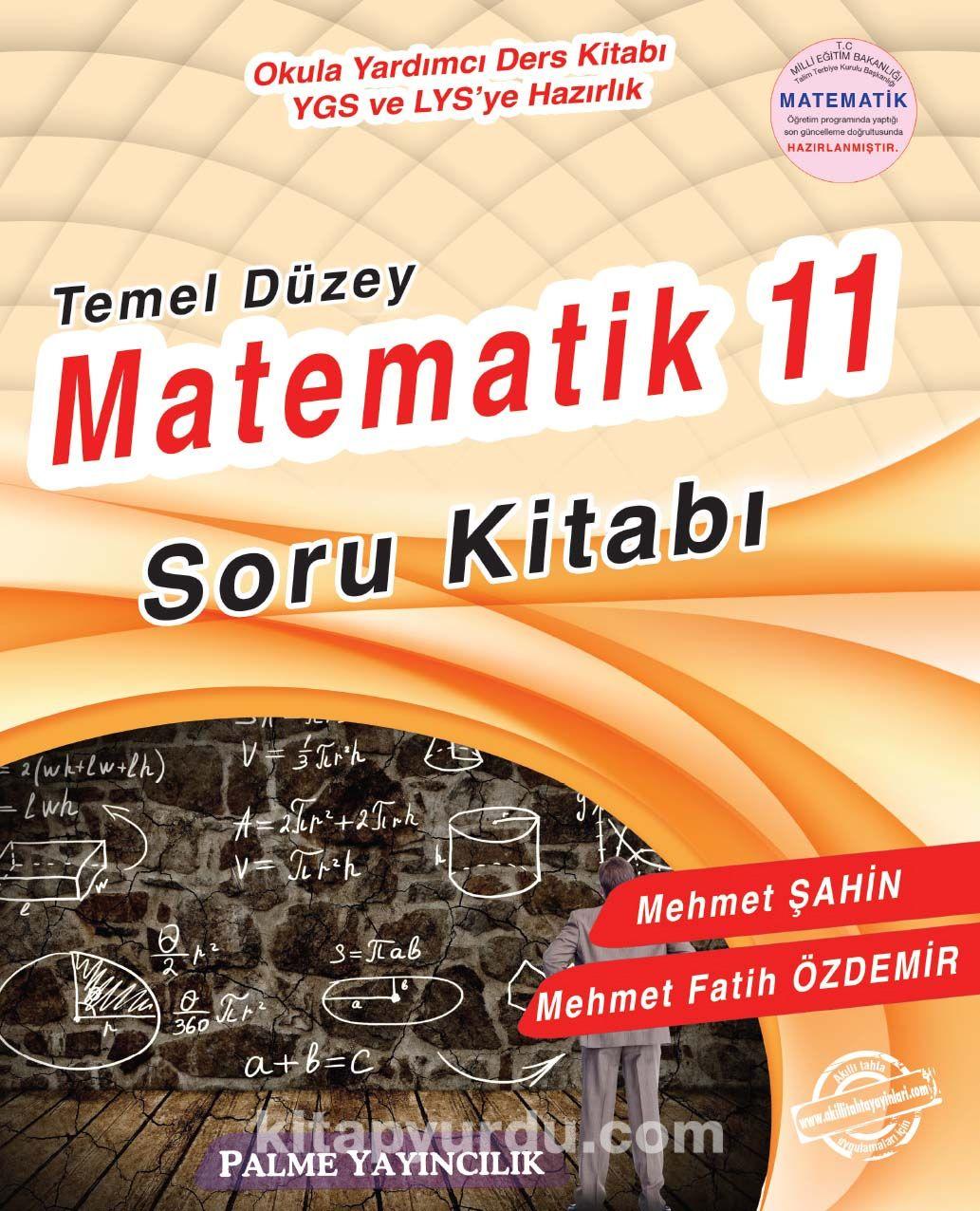 11.Sınıf Temel Düzey Matematik Soru Kitabı