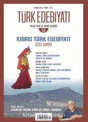 Türk Edebiyatı Aylık Fikir ve Sanat Dergisi Sayı: 558 Nisan 2020