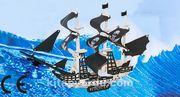 Montessori Ahşap Zeka Oyunları / w-3D Puzzle - Pirate Ship